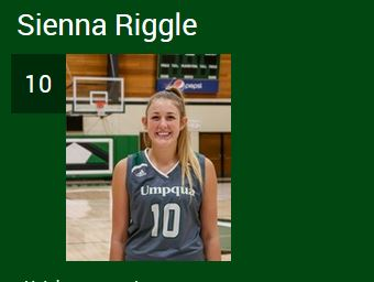 191130 Sienna Riggle UCC womens basketball