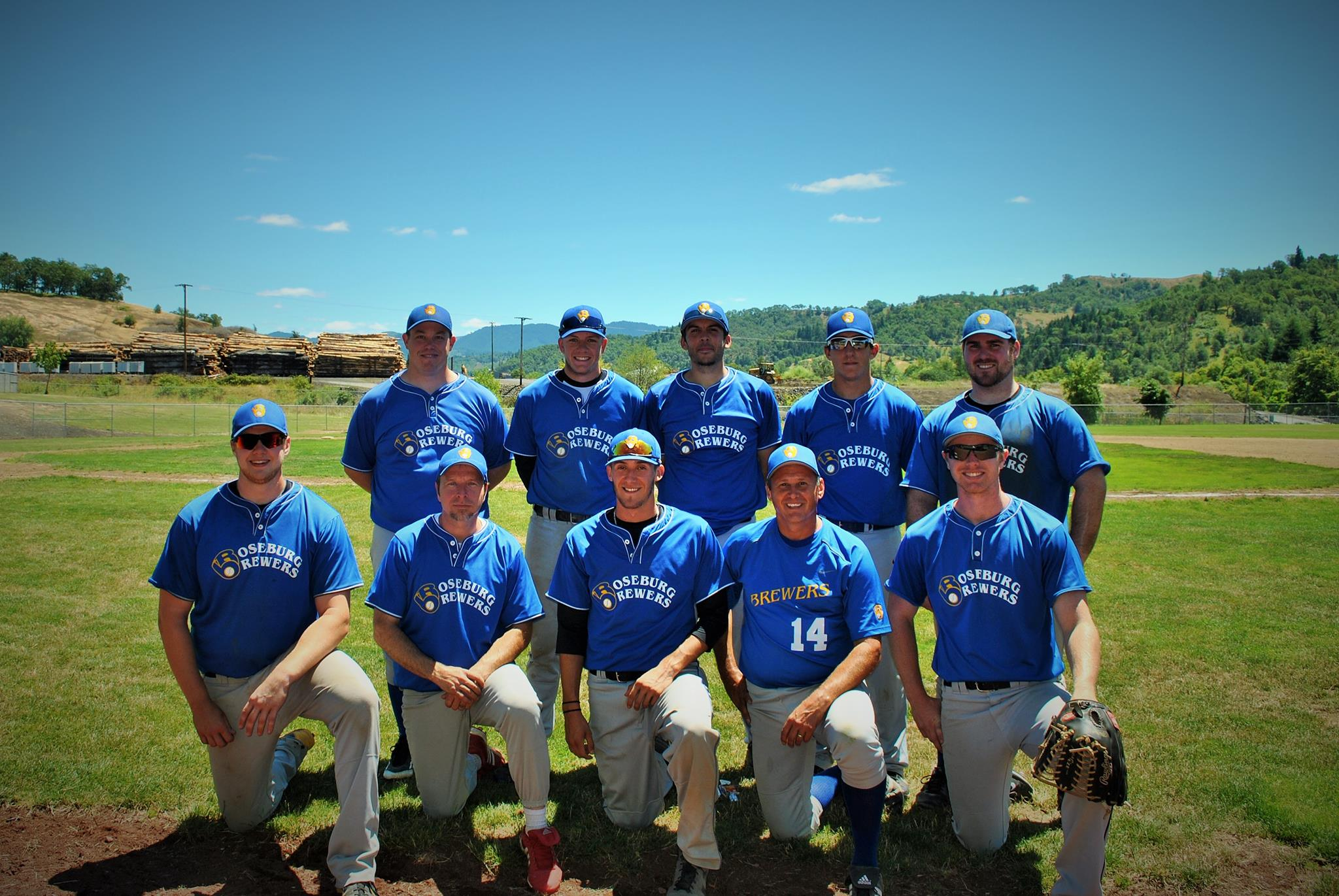 140701 Roseburg Brewers baseball